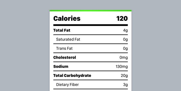 Building a Better Nutrition Label Scanner